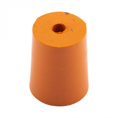 Rubber Bung (Base Dia 18mm) WITH HOLE