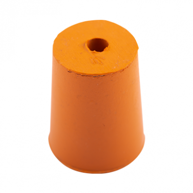 Rubber Bung (Base Dia 19mm) WITH HOLE