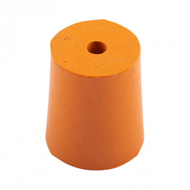 Rubber Bung (Base Dia 21mm) WITH HOLE