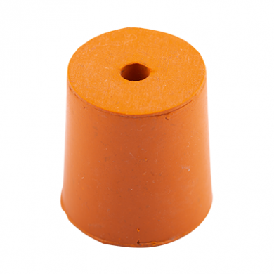 Rubber Bung (Base Dia 23mm) WITH HOLE