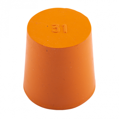 Rubber Bung (Base Dia 31mm)