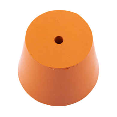 Rubber Bung (Base Dia 35mm) WITH HOLE