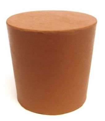 Rubber Bung (Base Dia 31mm) WITH TWO HOLES