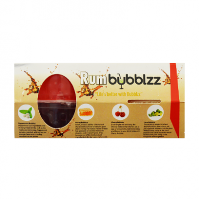 Bubblzz - RUM Kit of 4 Flavours (4 x 100g) OFFER - BBD 20/9/