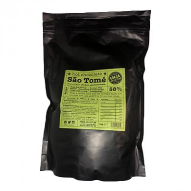 Drinking Chocolate Flakes 58% - São Tomé (1kg)
