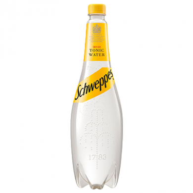 Schweppes - Tonic Water (1 Litre) OFFER - BBE April 21