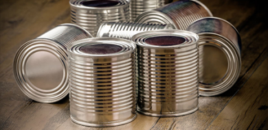Metal Tins for Restaurants