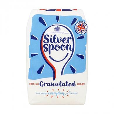 Silver Spoon - British Granulated Sugar (1kg)