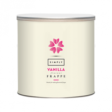 Frappe Mix - Simply Vanilla (1.75kg Tin)