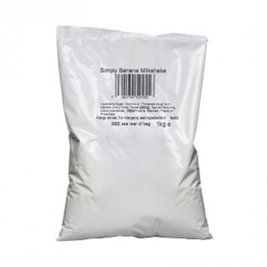 Milkshake Powder - Simply Banana (1kg Bag)
