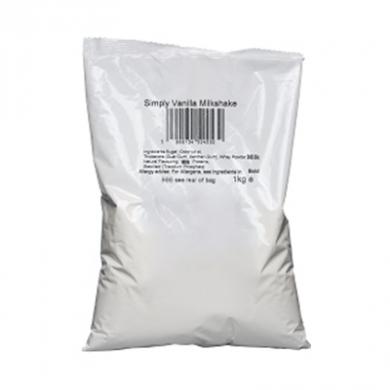 Milkshake Powder - Simply Vanilla (1kg Bag)
