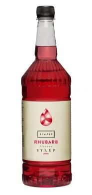 Syrup - Simply Rhubarb (1 Litre)