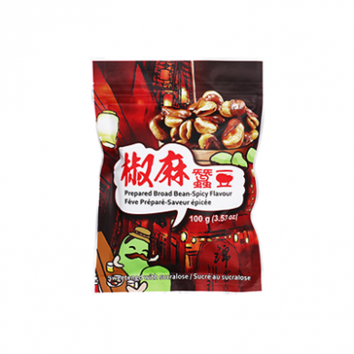 Six Fortune - Prepared Broad Beans Spicy Flavour (100g)