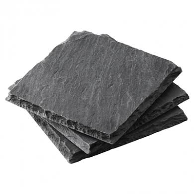 Slate Coasters - Pack of 4 (10cm x 10cm)