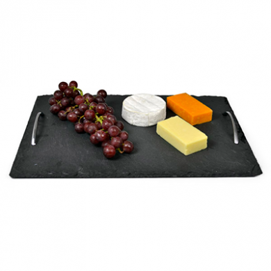 Slate Presentation Tray w/ Handles (40cm x 28cm)