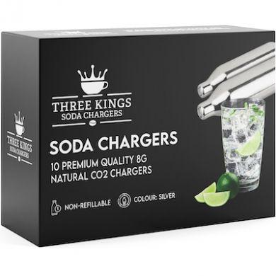 Soda Sparklets CO2 Charger Cartridges (Box of 10) - Three Ki
