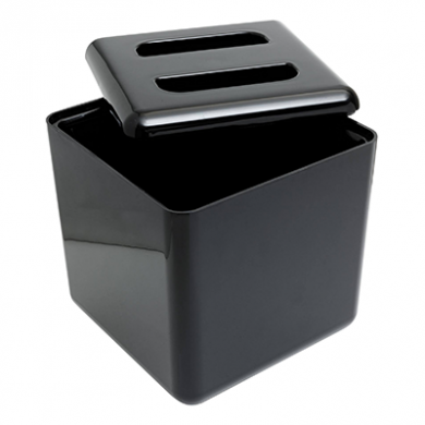 Square Ice Bucket Black (4 Litre)