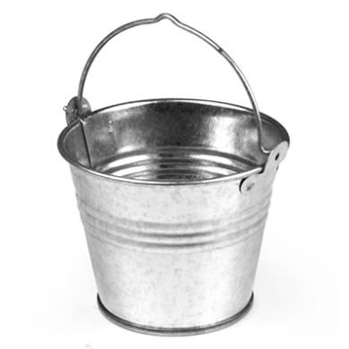 Presentation Bucket - Stainless Steel (Large) 91 x 116 x 110
