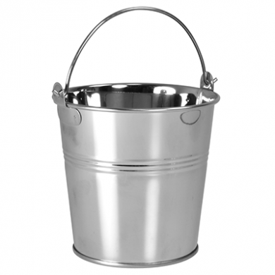 Presentation Bucket - Stainless Steel (Medium) 77 x 102 x 90