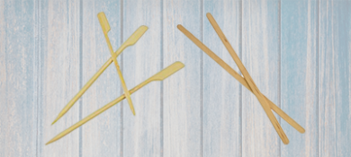 Bio Compostable Stirrers & Skewers