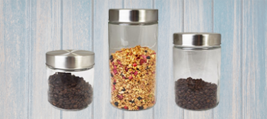 Storage Canisters for Kitchens