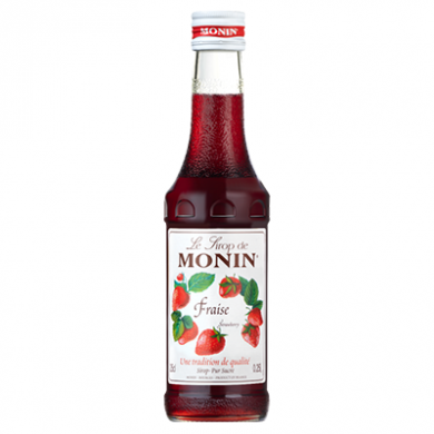 Monin Syrup - Strawberry (250ml)