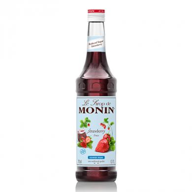 Monin Syrup - Strawberry (Reduced Sugar) 70cl