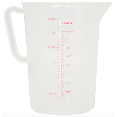 Sunnex Measuring Jug (3 Litre)