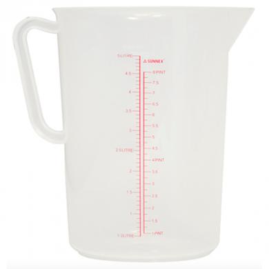 Sunnex Measuring Jug (5 Litre - Approx)