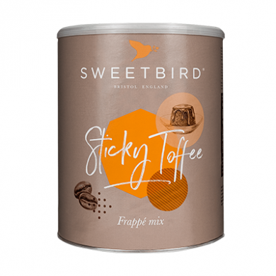 Sweetbird Frappe - Sticky Toffee Frappe (2kg Tin)