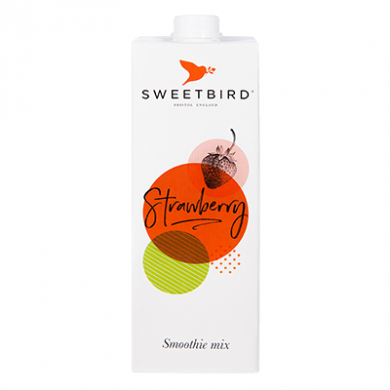 Sweetbird Smoothie Mix - Strawberry (1 Litre)