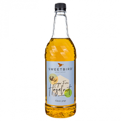 Sweetbird - Hazelnut (Sugar Free) Syrup (1 Litre)