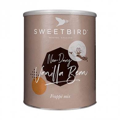 Sweetbird Frappe - Vanilla Bean Frappe (Non-Dairy) 2kg Tin