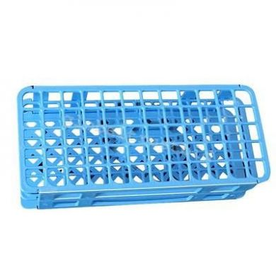 Test Tube Rack - Blue with 60 Holes (16mm)