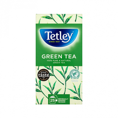 Tetley - Green Tea Bags (50g) - Pk of 25