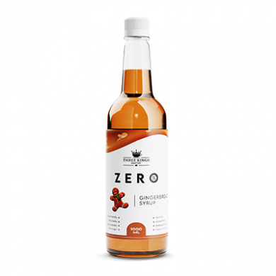 Three Kings - Zero - Gingerbread Syrup (1 litre)