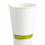 Planet Single Wall Hot Cup 12oz (89mm Rim) Pack of 50 - OFFER