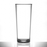 Polycarbonate - Premium PINT Glass Nucleated (568ml/20oz) CE Marked