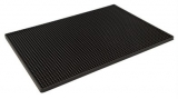 Black Rubber Bar Mat (450mm x 300mm)