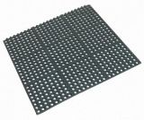 Rubber Floor Mat - Square Interlocking (90cm x 90cm x 1.2cm)