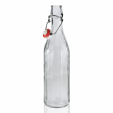 Glass Bottle with Flip Top/Swing Lid (500ml)