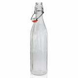 Glass Bottle with Flip Top/Swing Lid (750ml)