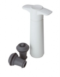 VacuVin - Wine Pump (Inc. 2 x Sealers) WHITE