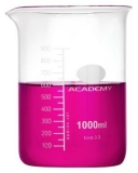 Academy - Measuring Beaker (Borosilicate Glass) 1000ml