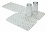Interlocking Glass Mats - White (Pk 10) - Heavy Duty