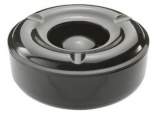 Windproof Ashtray - Black Large (145mm Diameter)
