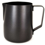 Rhinowares - Teflon Coated Milk Foaming Jug - Black (600ml/20oz)