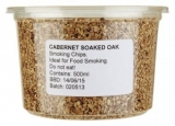 Wood Chips for Smoking - Cabernet Soak Oak (500ml / Approx 160g)