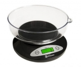 On Balance - Kitchen Scale with Bowl (5kg x 1g) Inc Batteries