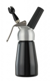 Cream Whipper - 0.25 Litre (Black with METAL Head)